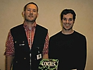 Borneman&me at GAEM2002